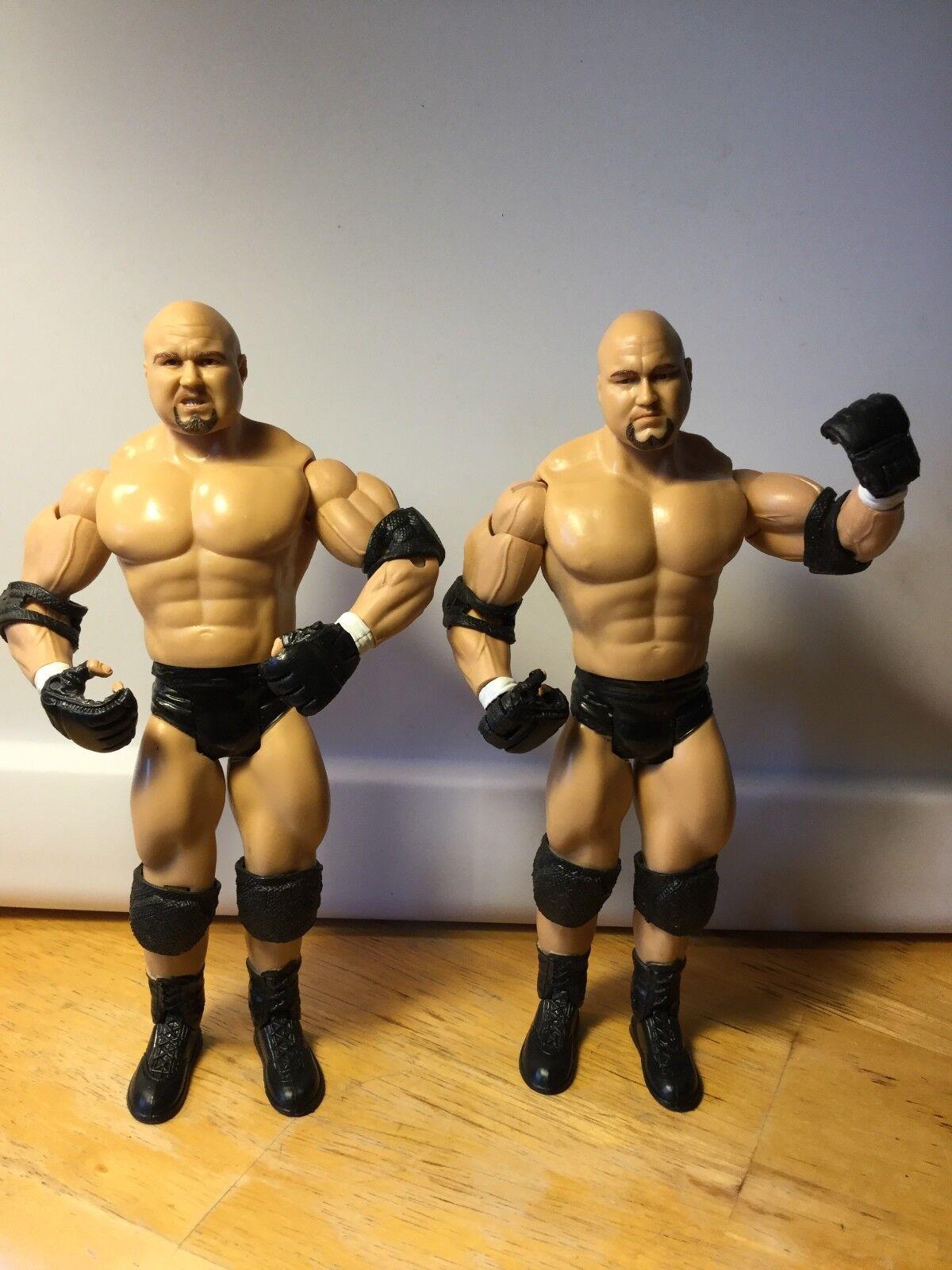 THE BASHAMS DANNY & DOUG DOUG DOUG WWE RUTHLESS AGGRESSION  FIGURES 249e9c
