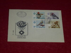 Coll-J-DOMARD-SPORT-XIVe-OLYMPIC-WINTER-GAMES-SARAJEVO-84-Flamme-Olym-Stamps