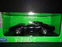 Welly Chevrolet Corvette 1982 Black 1/18