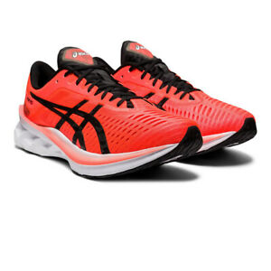 Asics-Homme-Novablast-Tokyo-Chaussures-De-Course-Baskets-Baskets-Orange-Sports