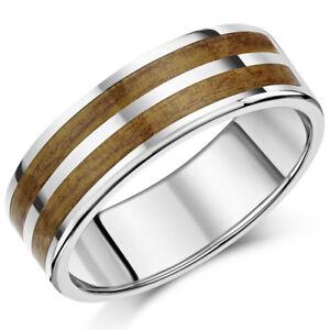 Titan-Holz-Ring-Holzoptik-Design-Hochzeit-8mm-Ring