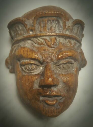 Gothic King/'s Face wall plaque decor