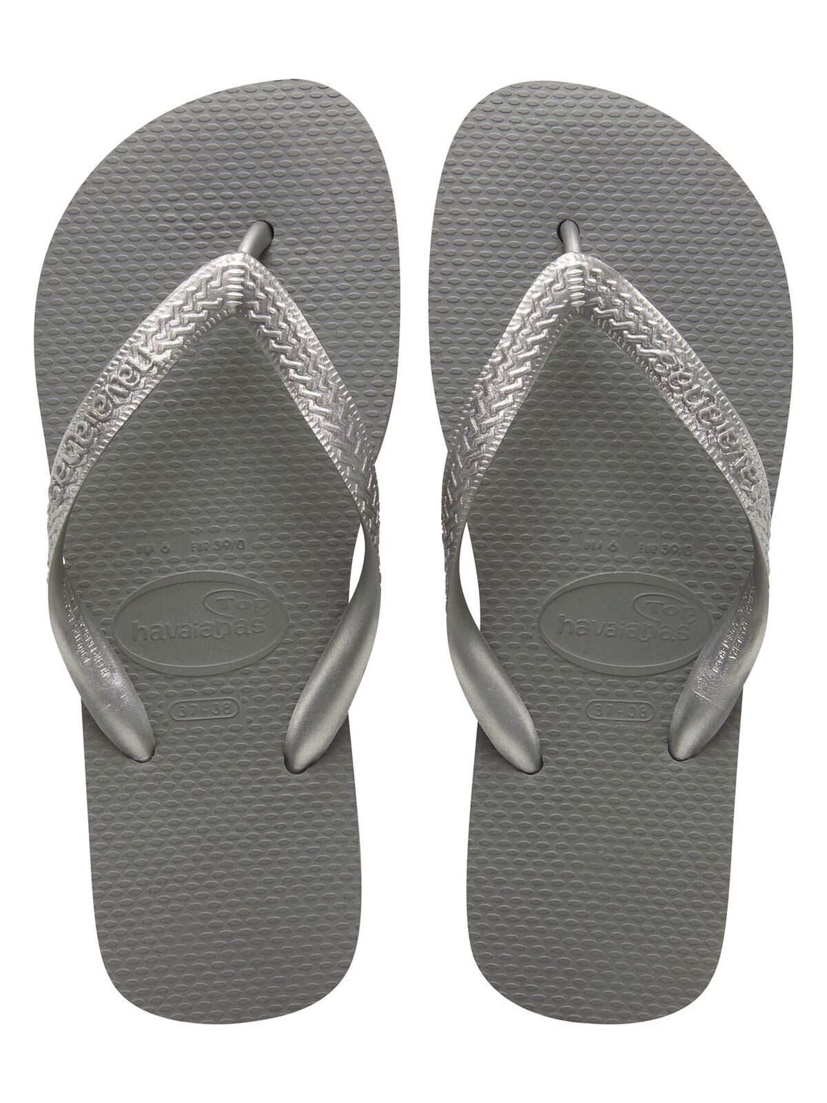 Gentlemen/Ladies Havaianas Top silber Zehentrenner Various Guarantee quality and quantity Various Zehentrenner types and styles Various ce7cc6