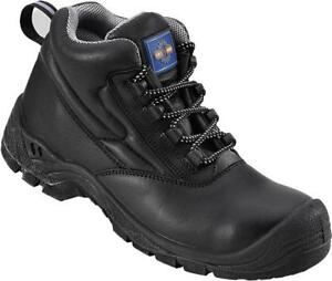 Pro Man PM600 Black Protective Toe   Midsole Work Safety Boots S3 ... b614910af