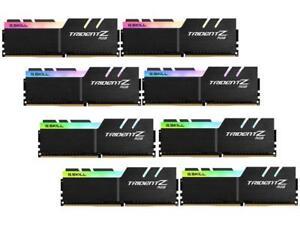 G.SKILL TridentZ RGB Series 128GB (8 x 16GB) 288-Pin DDR4 SDRAM DDR4 2933 (PC4 2