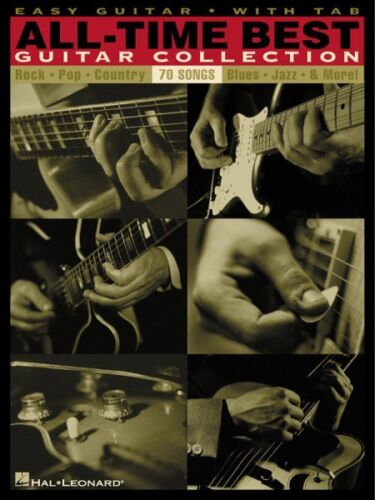 All-Time Best Guitar Collection Songbook Sheet Music Easy Guitar NEW 000702166