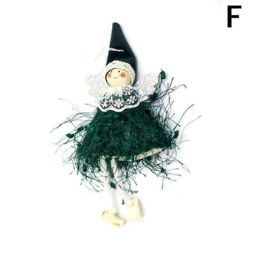 Weihnachtsengel Puppe Spielzeug Weihnachtsbaum Anhänger Ornamente Supplies O4C4
