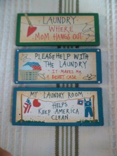 Laundry Day Blues Magnets 3x1.4 Diff Styles Funny Sayings Novelty Birthday Gift
