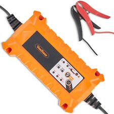 VonHaus 15A Battery Charger with Advanced Car / Vehicle Battery Diagnostics
