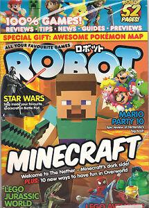 SEALED! ROBOT Minecraft Kirby Zelda Posters Lego Star Wars Games + ...