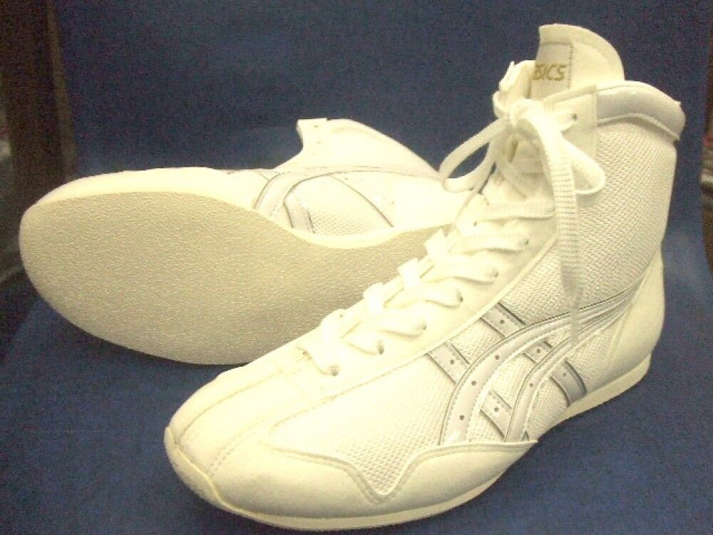 Asics Boxing shoes EF Short type Original color White x white line