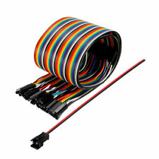 2p 1p 40p Jumper Wire 2mm To 254mm Pitch Ribbon Cable Breadboard Diy