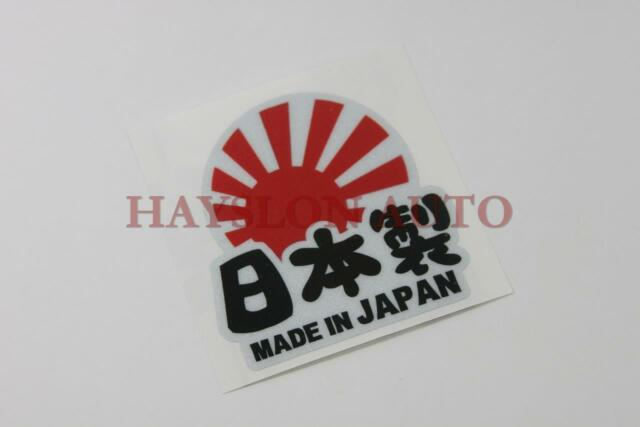 3M Made in Japan Round Reflective Decal Sticker Window Vinyl Fit Car Racing JDM