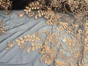 per metre dress fabric Guipure lace sewing /'Mohita/' White