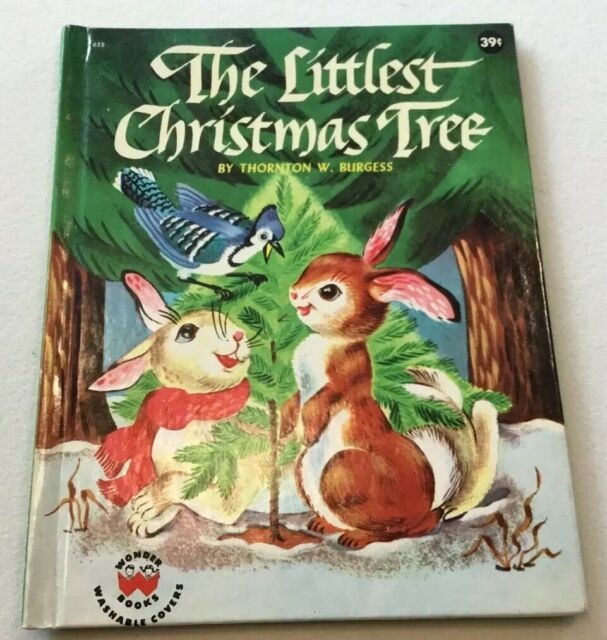 The Littlest Christmas Tree, 1954, Wonder Book, By ...