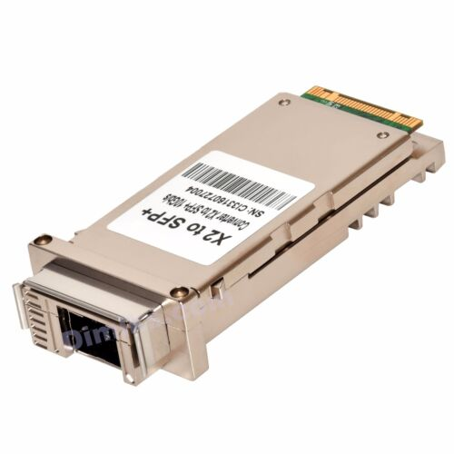 SFP Plus Converter interfaces adapter 10GB 10G X2 and XENPAK to SFP+