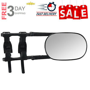 K Source 3891 Universal Clip-On Towing Mirror