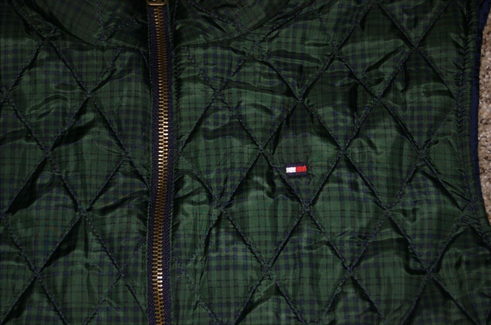 Vintage Tommy Hilfiger Quilted Reversible Women's… - image 6