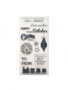Clear-Stamp-Set-Weihnachten-II