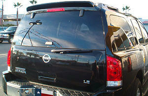 Painted Nissan Armada 2004+//Infinity QX56 2004-2010 Custom Rear Spoiler Fits