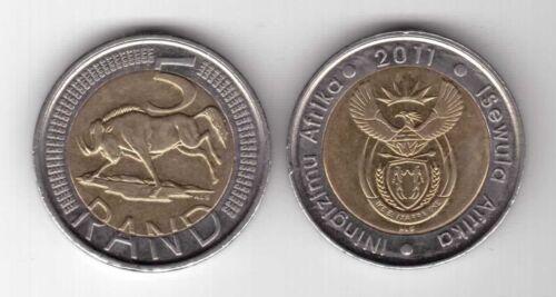 SOUTH AFRICA BIMETAL 5 RAND UNC COIN 2011 YEAR KM#506