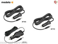 Medela Breast Pump Car Vehicle Lighter Power Adapter 9v/ 12v Dc