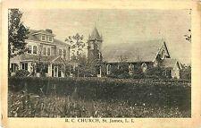 A View of the Roman Catholic Church, St James L.I. NY
