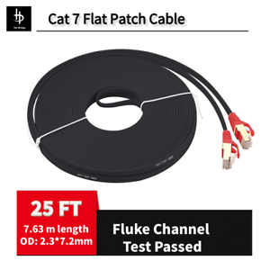 PS4 Ethernet Cable RJ45 Cat7 Network Patch Cord 10 Gigabit for Modem PS3