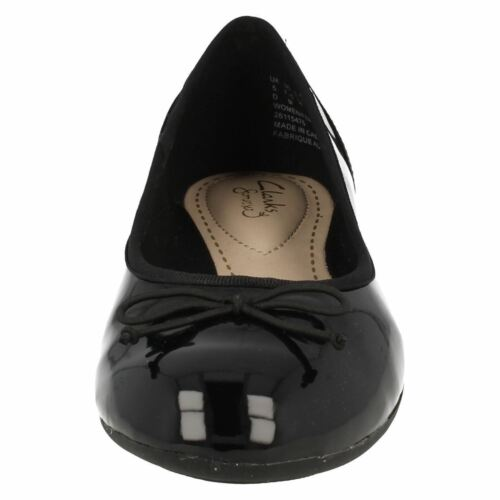 CLARKS Couture Bloom Ladies Ballerina Style Shoes