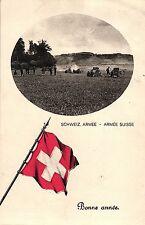 Suiza, del ejército suizo, año nuevo, 1915