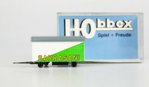 top! OVP HOBBEX H0 1:87 MH 102 Zirkus-Werkstattwagen SARRASANI