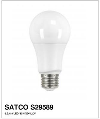 Satco S9383 Lumos LED MR16 GU10 GU10 6.5 watt 120V 3000K Light Bulb