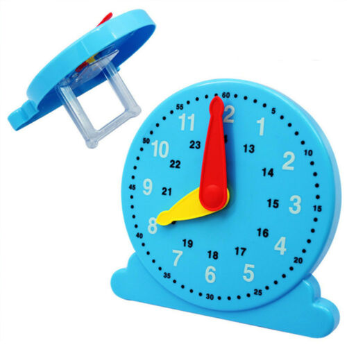 Baby Plastic Cognition Clock Cute Education Toy Early Learning Preschool Toy