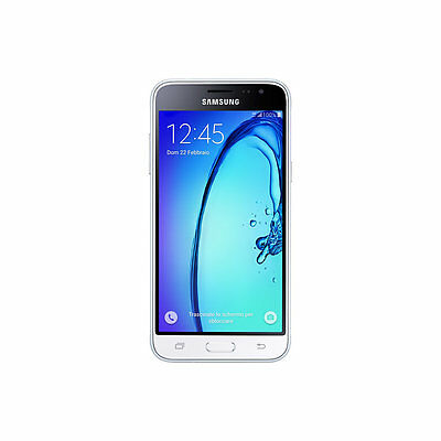 SAMSUNG GALAXY J3 2016 SM- J320 4G LTE white 1.5BGB GARA.ITALIA PELLICOLA OMAGG