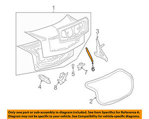 Cadillac GM OEM 04-07 CTS Trunk-Lift Cylinder 15911948