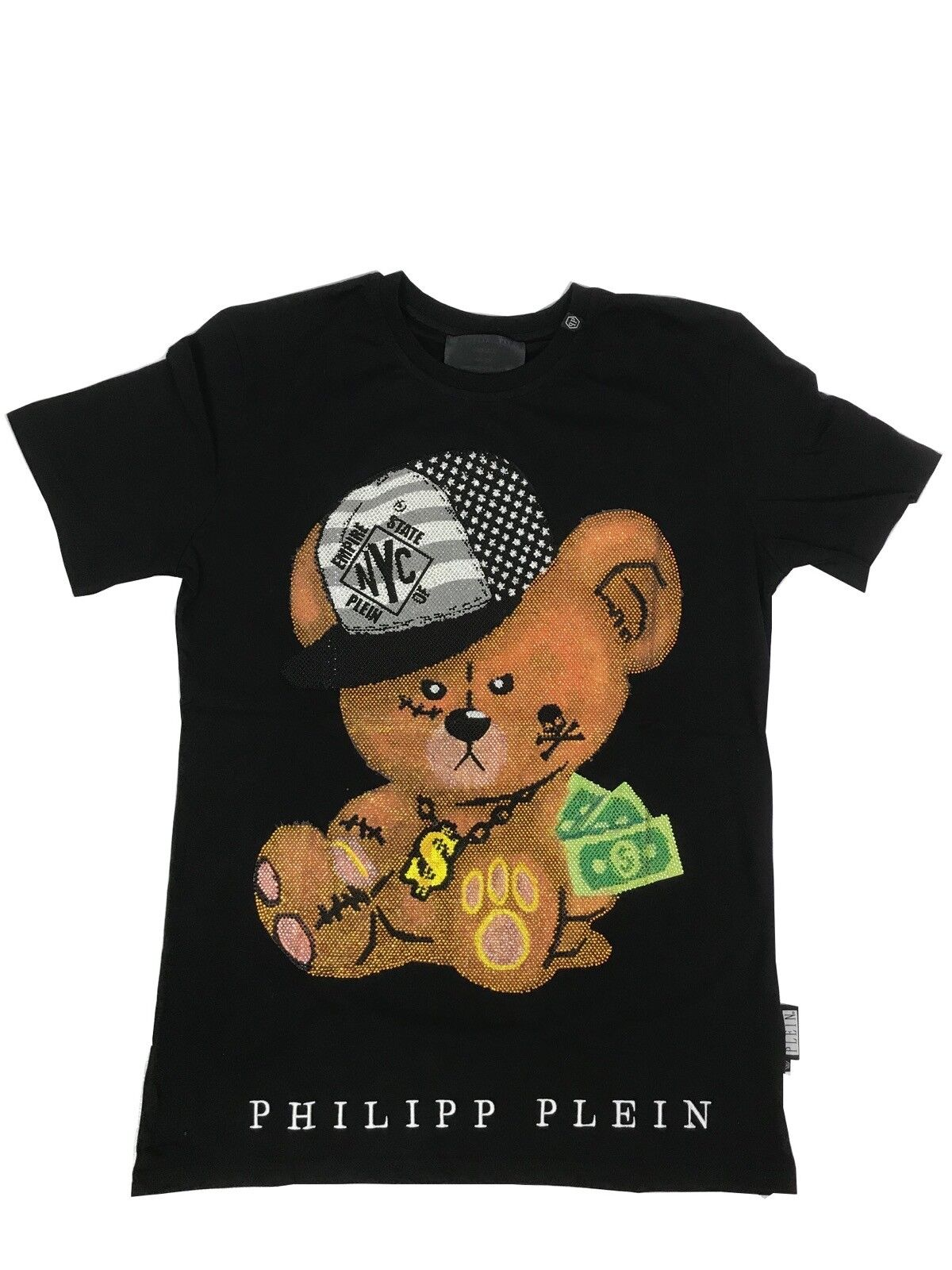 bd2319ecaa759 Philipp Philipp Philipp Plein T-shirt col rond bébé noir taille XL f6ec0e