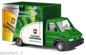 Busch-47931-Iveco-Daily-Ausschankwagen-Lammsbrau-H0-Automodell-1-87
