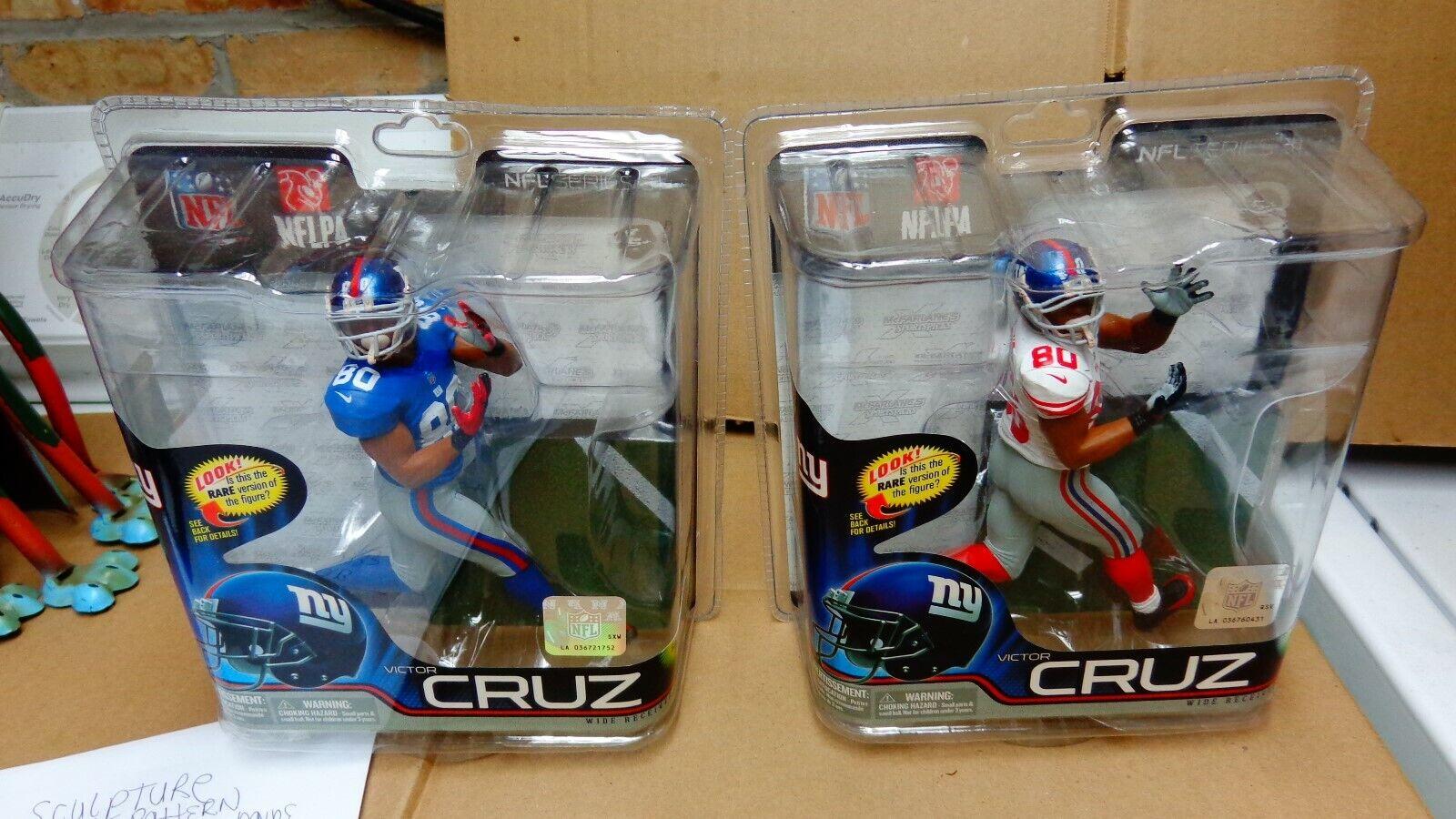 MCFARLANE VICTOR  CRUZ NY GIANTS WR NFL31 cifra(SETOF2) REG e CL 2000 nuovo  vendita online sconto prezzo basso