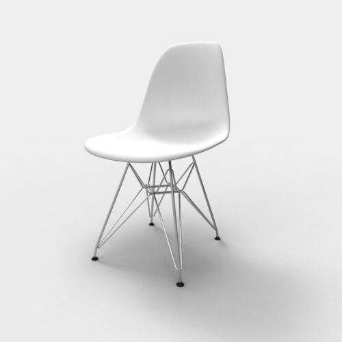 Replacement Chair Glides x4 Eames Eiffel Base Furniture Feet ABS
