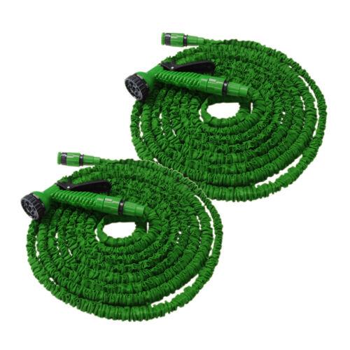 Flexibler Gartenschlauch Flexischlauch Schlauch 2 x grün 7,5 m EUR 1,39//m