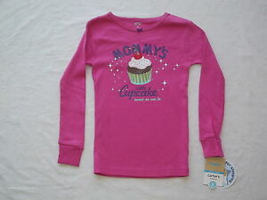 6c9071628 Carter s Pink Cupcake Pajama (Top Only) Girls size 5 NWT G82168 ...