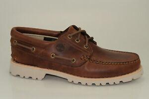 Timberland-Chilmark-3-Eye-Boat-Shoes-Ultra-Leicht-Herren-Schnuerschuhe-A1RA2