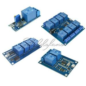MICRO-USB-5V-2-4-8-Channel-USB-Control-Relay-Module-1-Channel-5-30V-Delay-Relay