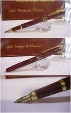 Stilografica Kaigelu 221 Red Lacquer fountain pen mod. Junior  Nib M