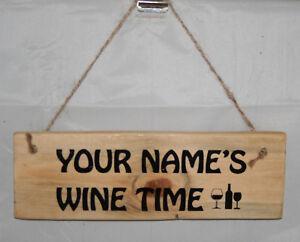 Large Personalised Name Sign Plaque Outdoor Garden Shed Den Bar Garage Shop