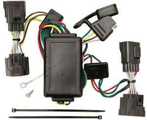 trailer wiring harness kit for 06 10 jeep commander all. Black Bedroom Furniture Sets. Home Design Ideas