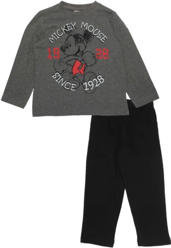 Mickey Mouse Boys Since 1928 Long Sleeve Pyjamas