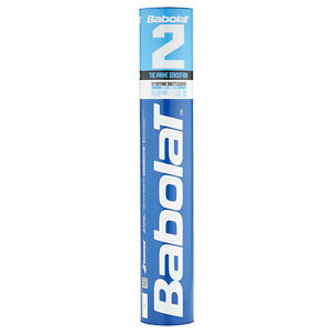BABOLAT Feather 2 Naturfederbäll<wbr/>e 10 Rollen (120 Stück) Badmintonball -NEU