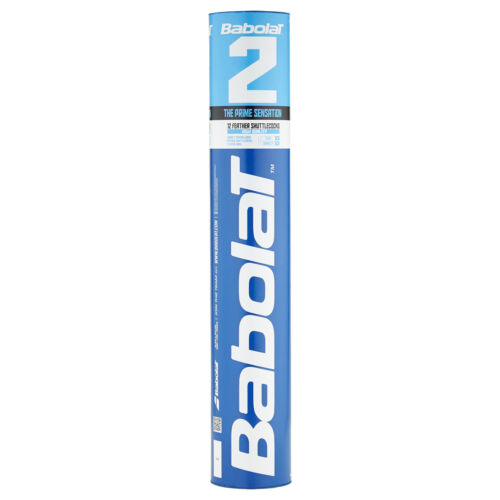 BABOLAT Feather 2 Naturfederbälle 10 Rollen (120 Stück) Badmintonball -NEU