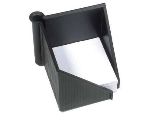 Helit Zettelbox Linear schwarz
